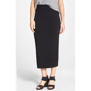 Eileen Fisher Merino Wool Knit High Waist Skirt
